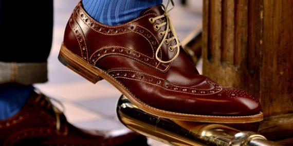 Barker, a Tradição dos Calçados Ingleses
