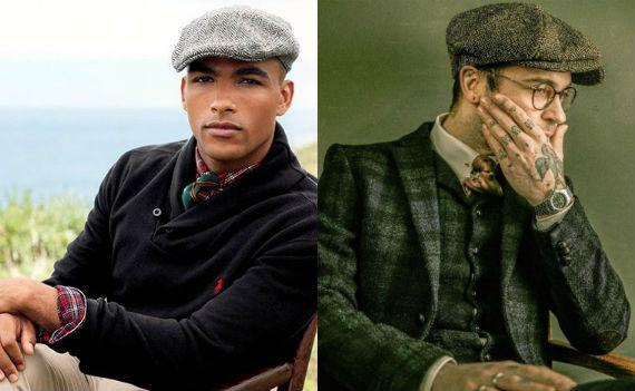 Boinas: Newsboy e Flat Cap, o Que São e Quais Suas Diferenças?