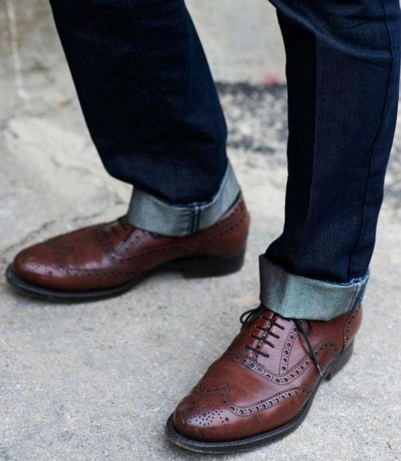 Como usar sapato social com calça jeans