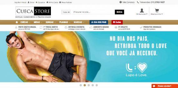 Cueca Store é a Solução Para Homens Que Precisam de Underwear