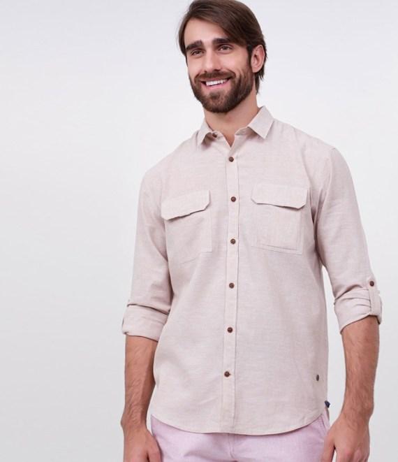 18feb2bbfe 6 Camisas de Linho Masculinas Para Comprar Pela Internet - Canal ...