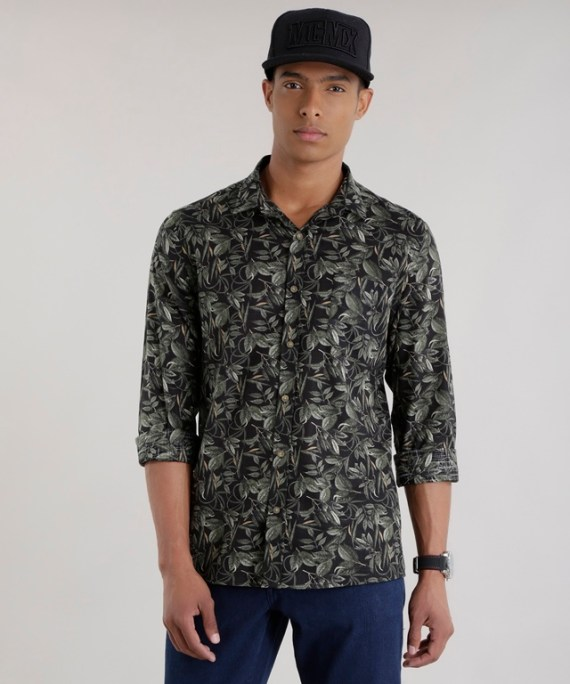 Compras: 12 Camisas com Estampa Floral e Para Usar no Verão