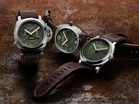 Relógios da Panerai Ganham Nova Cor