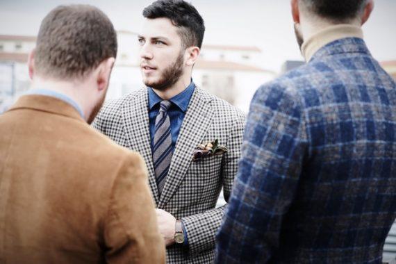 Os Homens Mais Elegantes da Pitti Uomo 93