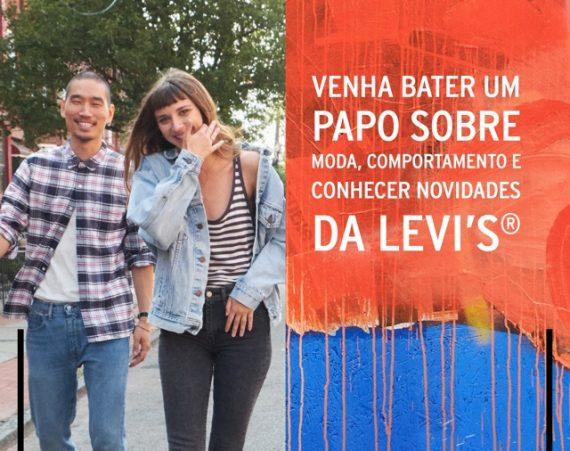 Evento Levi's e Canal Masculino - Participe!