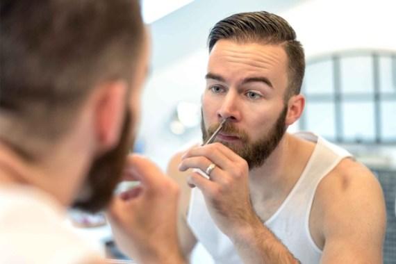 Cuidados de Grooming Para um Encontro Perfeito - Pelos no nariz