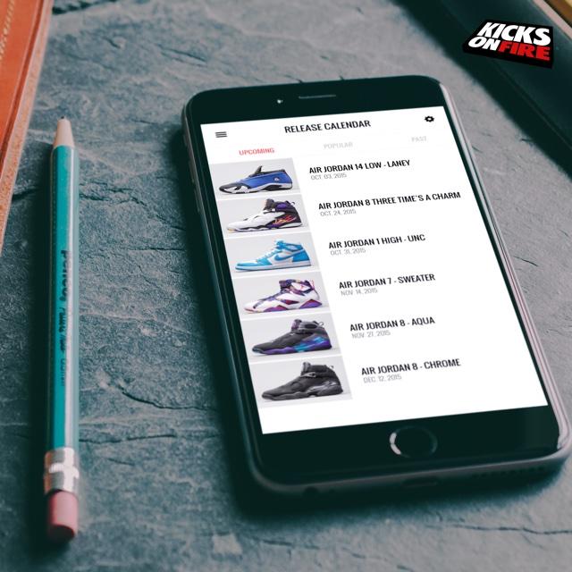 KicksOnFire é o App para Deixar os Sneakerheads Atualizados