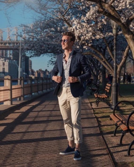 O Look Certo: Inverno Masculino Para Cidades Quentes
