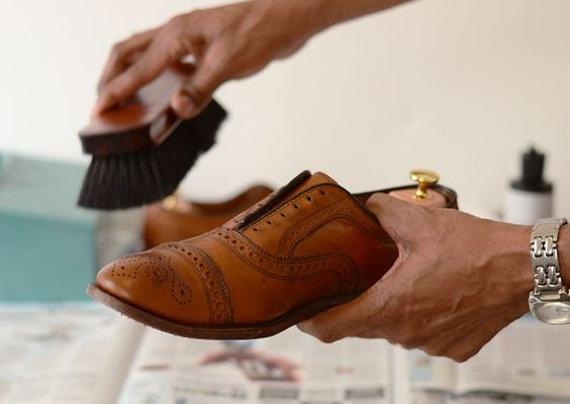 escova de sapato
