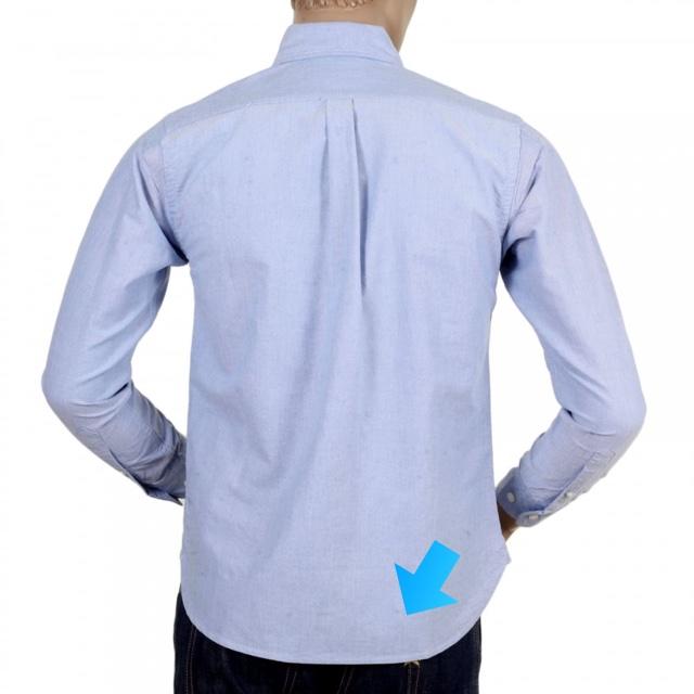 Partes da Camisa Social - Fralda