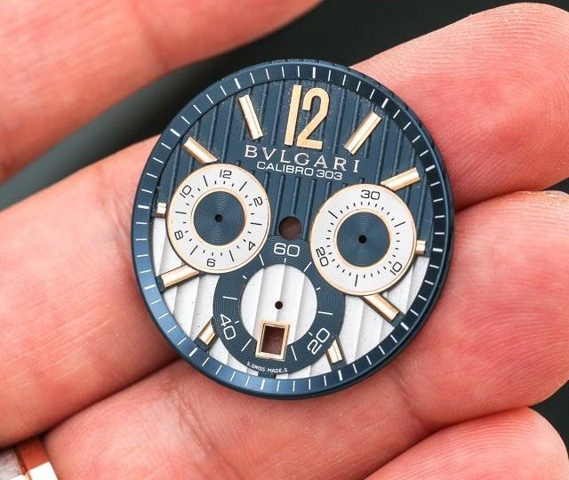 Partes do Relógio de Pulso - Dial ou mostrador