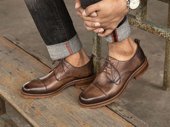 Dicas Para Alongar a Silhueta Masculina - Sapatos