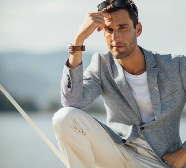O Estilo do Verão Masculino 2019: Tons Crus, Beges, Cinzas e Branco