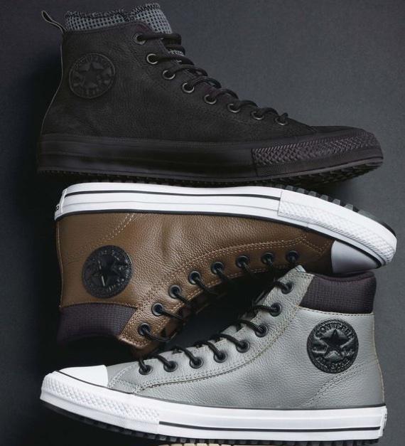 87855fe3c3 Do All Star marrom de borracha escura aos modelos criados por John Varvatos  com pegada punk rocker, a criação da Converse em parceria com Charles  Taylor ...