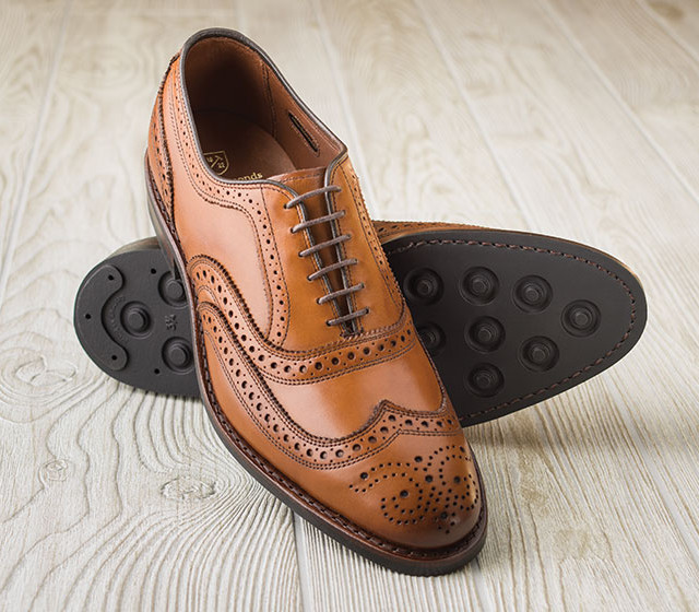 Sapato social masculino com sola de borracha