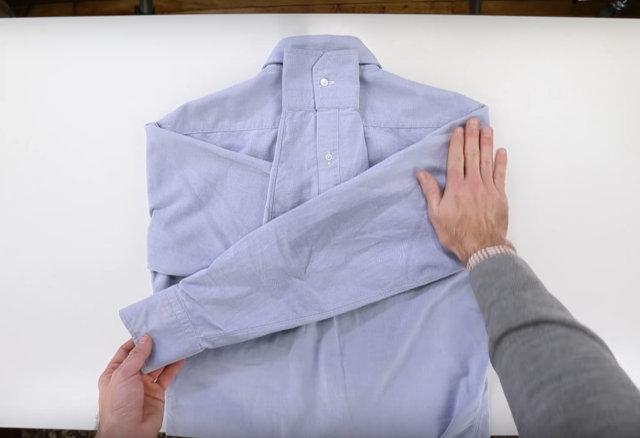 Vídeo: Uma Maneira Diferente de Dobrar Suas Camisas