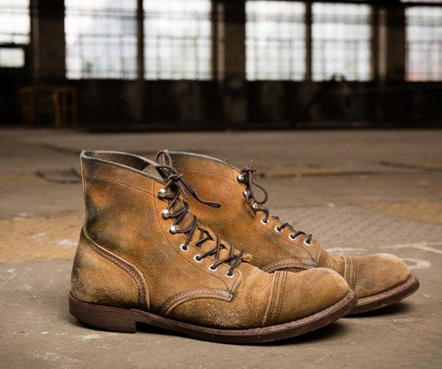 Tipos de Couro de Sapato - Roughout
