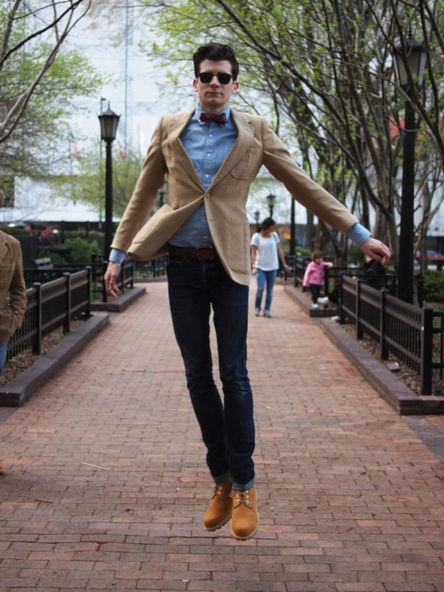 O Look Certo: Smart Casual Com Yellow Boots