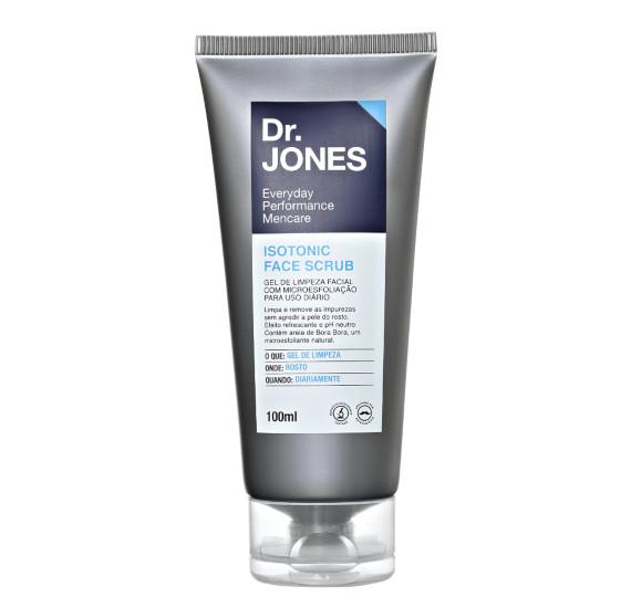 Dr. Jones Isotonic Face Scrub - Esfoliação rosto masculino