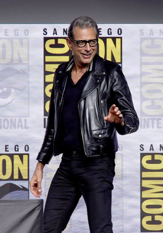 Vista-se de Acordo Com Sua Idade #SQN - Jeff Goldblum