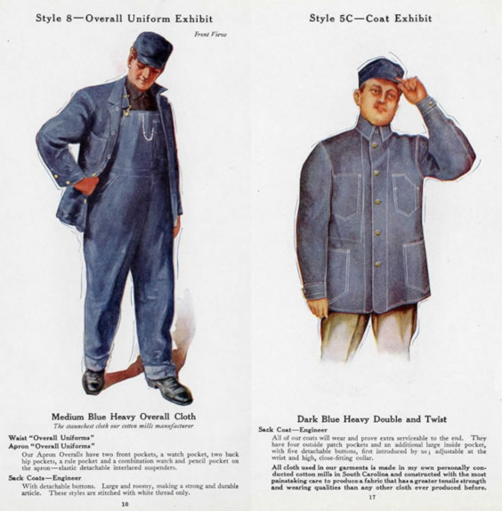 Chore Coat - anúncio de 1917