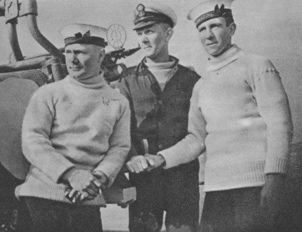 A História do Suéter de Tricô Masculino - Marinheiros no início do século 20