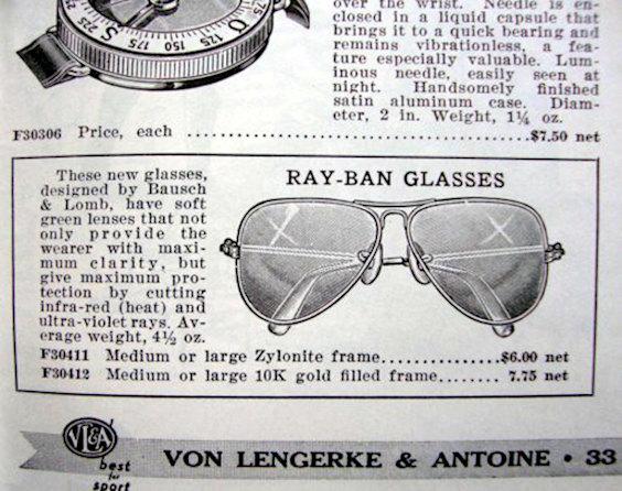 Propaganda de Óculos Aviador da Ray-Ban