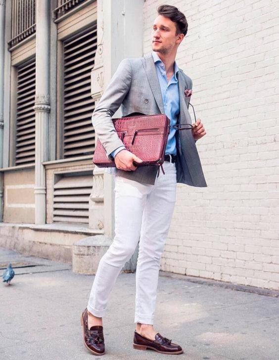O Look Certo: Com Blazer de Abotoamento Duplo Para Primavera/Verão