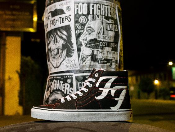 Vans e Foo Fighters Lançam Tênis Para Comemorar 25 Anos do Primeiro Álbum da Banda