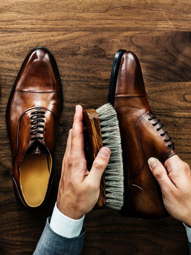 Cuidados Básicos com Sapatos de Couro