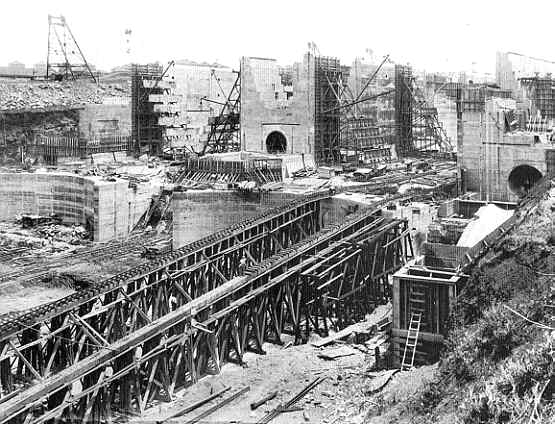 Image result for photos of french construction of the panama canal
