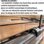 Canapé Convertible 3-4 Places Select Matelas 15cm sommier Lattes 160cm RENATONISI Cuir Vachette Blanc cassé