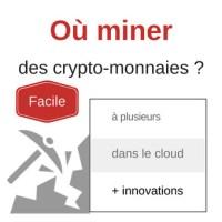 Miner les crypto-monnaies