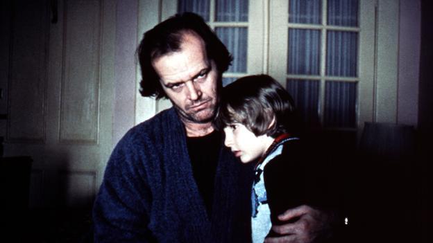 Jack Nicholson y su hijo en el Resplandor -  Photo by Moviestore Collection / Rex Features (1635822a) The Shining,  Jack Nicholson,  Danny Lloyd Film and Television