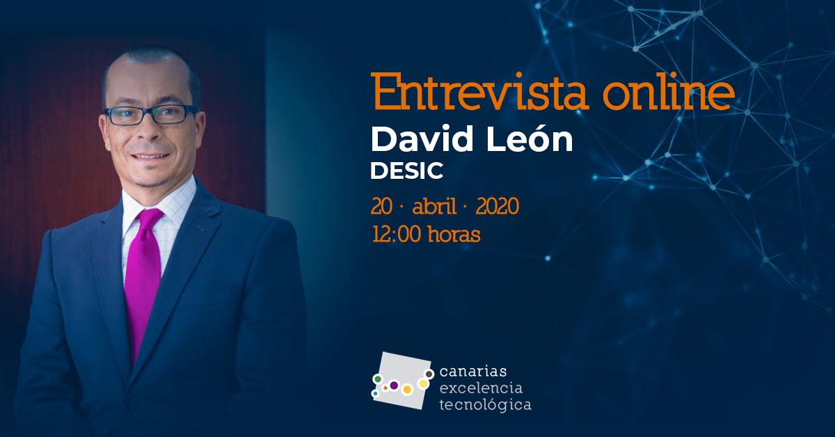 Entrevista online con David León, de DESIC