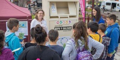 Gran interés por la labor de Canarias Recycling S.L. en la Feria de La Orotava
