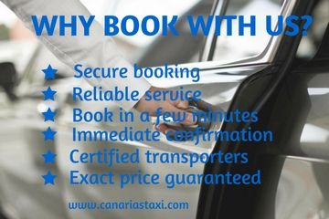 Why book with Canarias Taxi