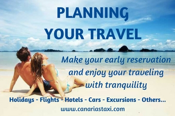 Planning your travel with Canarias Taxi
