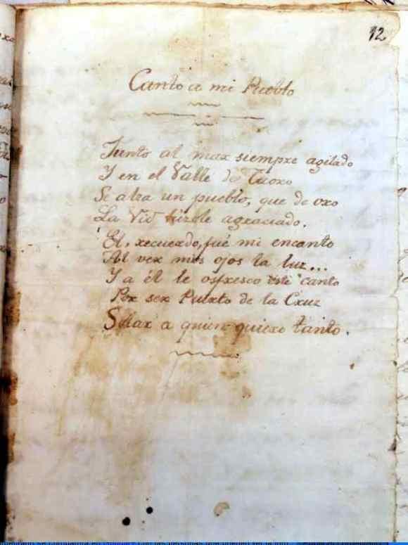 Poema Iriarte