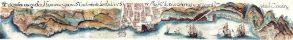 Mapa de Santa Cruz 1701