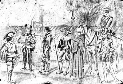 El tapiz perdido de Lía Tavío, Fundación del Puerto de la Cruz.