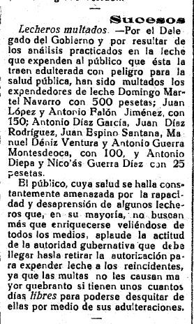 17 de Junio de 1925, tendrá que ver con la adulteración sugerida.