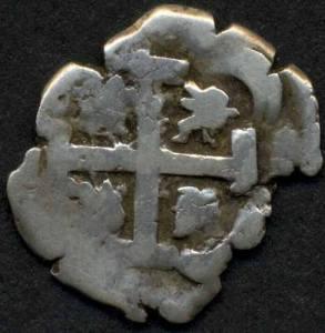 En la imagen, una Fisca de 1 real de plata de 1760 del Potosí.
