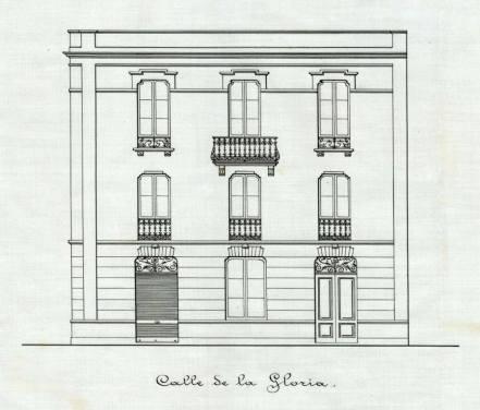 Fachada calle Juan de Padrón