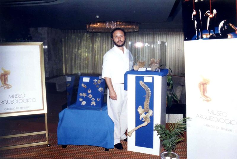 Foto de Carlos García en el congreso