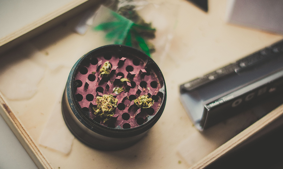 how to clean your grinder