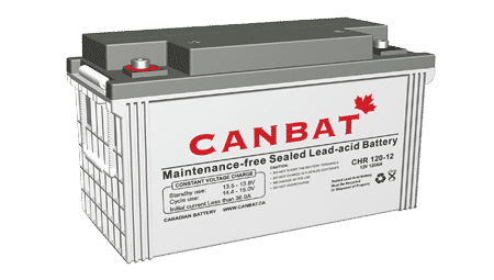 High Rate sealed lead acid battery