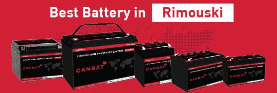 Lithium Battery Rimouski
