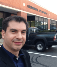 CANbus Academy founder, Igor Ramos, at the General Dynamics facility in Herndon, VA