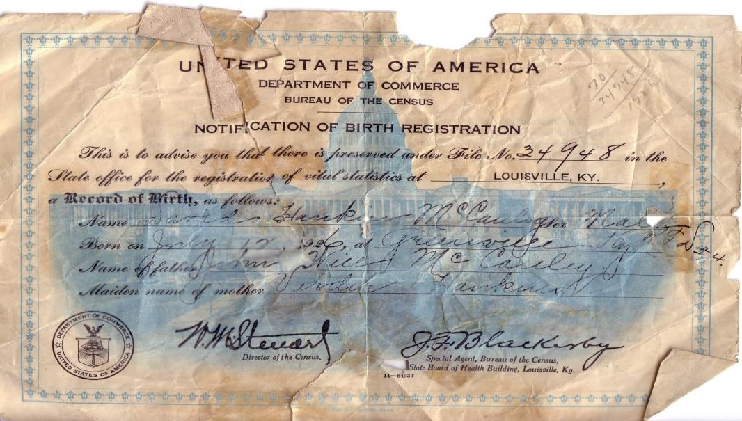 YOUR STRAWMAN ID or Birth Certificate - The Great Government MONEY